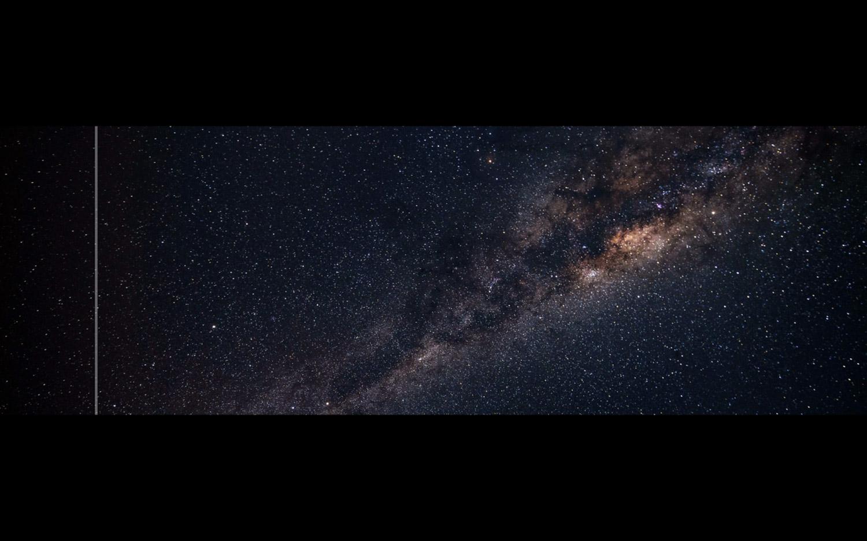 Filipe Vilas-Boas, Star Tracks I L'Astrophone, sonification de photographie, 2018.